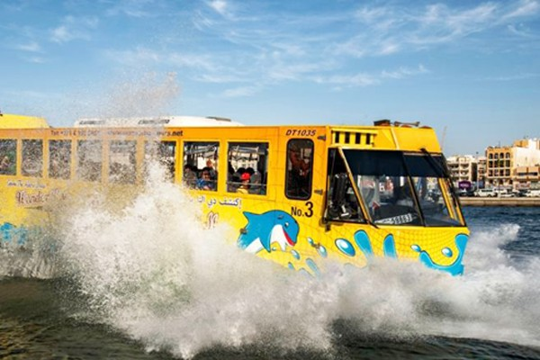 اتوبوس شگفت انگیز دبی