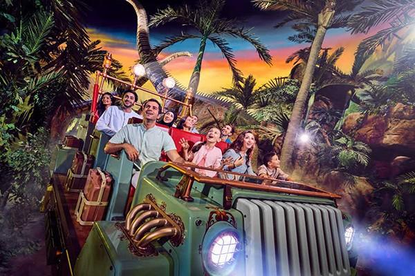 پارک سرپوشیده IMG World Adventure دبی