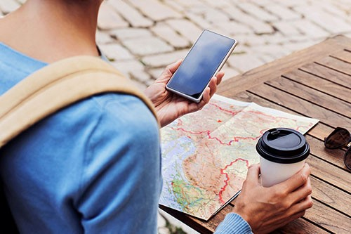 امنیت تلفن همراه در سفر